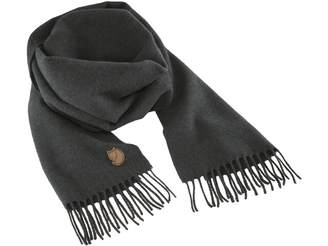 Fjällräven Solid Re-Wool Kaulahuivi, dark grey